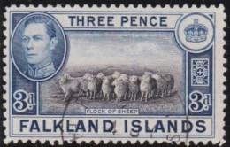 Falkland  Islands       .   SG   .    153        .       O   .   Cancelled   .   /   .   Gebruikt - Falklandeilanden