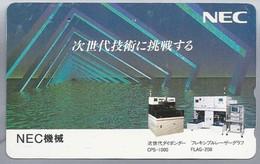 JP.- Japan, Telefoonkaart. Telecarte Japon. NEC - Reclame