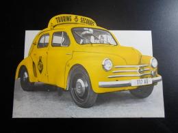 Tourin Wegenhulp Renault 4CV Touring Secours Brochure NL-FR 1960 - Voitures