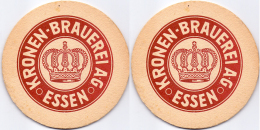 #D176-265 Viltje Kronen Brauerei Essen - Sotto-boccale