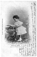 Luxembourg Précurseur Princesse Hilda Lisant Ambulant Paris épernay 1899 Très Bon état TOP+++ - Grand-Ducal Family