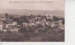 01 AMBERIEU  -  Village De Vareille Et Le Chateau Des Echelles  - - Otros Municipios