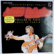 Disque Vinyle 33T JOHNNY HALLYDAY Double Album AU PAVILLON DE PARIS - PHILIPS 6681 011 1979 - Unclassified