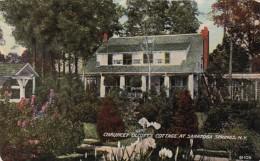 New York Saratoga Springs Chuancey Olcott's Cottage - Saratoga Springs