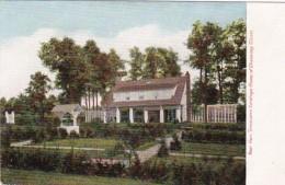 New York Saratoga Springs Rear View Inniscara Home Of Chauncey O