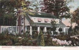 New York Saratoga Springs Inniscara Residence Of Chauncey Olcott - Saratoga Springs