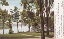 New York Saratoga Springs Saratoga Lake 1907 - Saratoga Springs