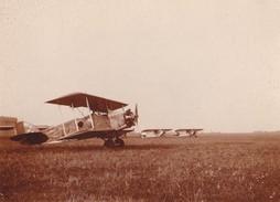 Photo Ancienne Lot 2 Photos  Avion A Identifier  Aerodrome Orly Aout 1932 - Aviation