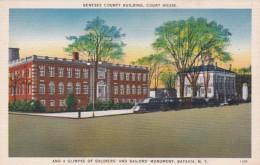 New York Batavia Genesee County Building Court House