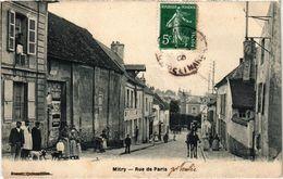 MITRY (77) La Rue De Paris - Belle Carte Postée - Mitry Mory