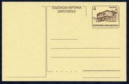 MACEDONIA 1998 Postal Stationery Card 4 D. Unused.  Michel P4 - Macedonia