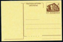 MACEDONIA 1996 Postal Stationery Card 2 D. Unused.  Michel P3 - Macedonia