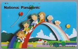 JP.- Japan, Telefoonkaart. Telecarte Japon. NATIONAL PANASONIC. - Personen