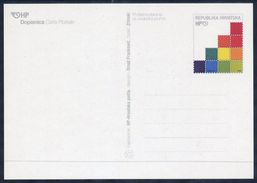 CROATIA  2001 Postal Stationery Card 1.80 K. Stamp Anniversary. Unused.  Michel P21 - Croatia