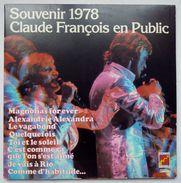 Disque Vinyle 33T CLAUDE FRANCOIS EN PUBLIC SOUVENIR 1978 - Disques FLECHE6641470 1976 - Double Album 2 Disques - Unclassified