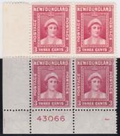 Newfoundland        .   SG   .     269   Bloc Of 4            .      **      . Postfris     .   /   .  MNH - Newfoundland
