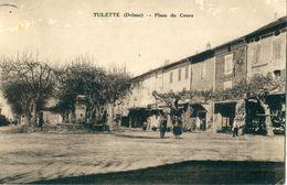26 - Tulette : Place Du Cours - Autres Communes