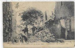 13.VERNEGUES.  TREMBLEMENT DE TERRE DU 11 JUIN 1909 - France