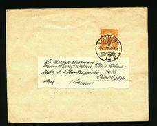A5000) Ungarn Hungary Streifband Budapest 22.9.1904 Nach Karbitz - Ungarn