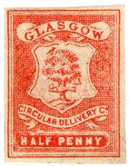 (I.B) Cinderella Collection : Circular Delivery Company (Glasgow ½d) - 1840-1901 (Victoria)