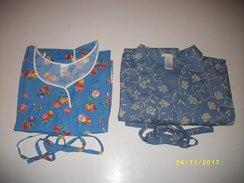 Lot De 4 Blouses-robes Tant Appréciées Des Personnes Agées + 2 Offertes - Habits & Linge D'époque