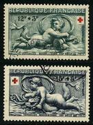 FRANCE -  YT 937 Et 938 - CROIX ROUGE - 2 TIMBRES OBLITERES - Usati