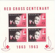 Nigeria 1963 Yvertn° Bloc 2 *** MNH Cote 70 FF Croix Rouge Rode Kruis - Nigeria (1961-...)