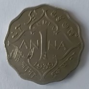 Monnaies - India - George VI - 1 Anna 1939 - - India
