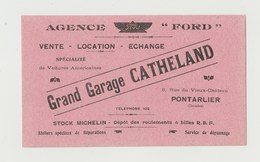 BUVARD GRAND GARAGE CATHELAND , PONTARLIER (DOUBS) AGENCE FORD - Automotive