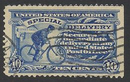 United States, 10 C. 1902, Sc # E6, Mi # 152, Used. - Special Delivery, Registration & Certified