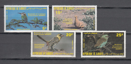 Djibouti 1985,4V In Set,birds,vogels,vögel,oiseaux,pajaros,uccelli,aves,MNH/Postfris,(A3460) - Zonder Classificatie