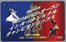JP.- Japan, Telefoonkaart. Telecarte Japon. DANSEN - Reclame