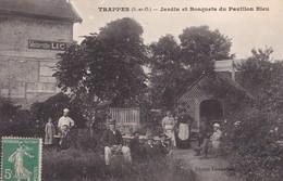 TRAPPES(S-ET-O). JARDIN ET BOSQUETS DU PAVILLON BLEU. EDITION LECANELLIER. CIRCA 1910s. TBE -BLEUP - Joliette, Havenzone