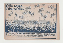 BUVARD LES CYCLES SVELTES Vont Distribuer Une Pluie De Vélos - Manufacture D' Armes Et Cycles ST ETIENNE - Moto & Vélo