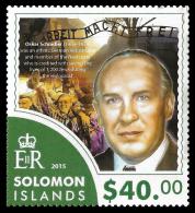 Solomon Island Oskar Schindler Holocaust Jews Jewish Auschwitz 1v Stamp MNH Scott:1918 - Non Classificati