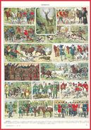 Vénerie Illustration Louis Bombled Recto-verso Larousse 1948 - Vieux Papiers