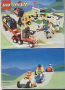 Notice Plan LEGO System N° 6539 De 1993 / Semi Remorque Pour Le Transport De Voitures De Sports - Lego System