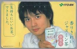 JP.- Japan, Telefoonkaart. Telecarte Japon. ITO EN. - Reclame