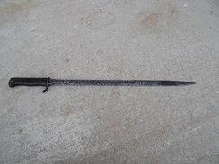 Baionnette Allemande Sans Fourreau Modele 98 A Dent De Scie Vendu En L'état Ww1 Baio Bayonet - 1914-18