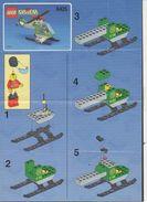 Notice Plan LEGO System N° 6425 De 1999 / Hélicoptère - Lego System