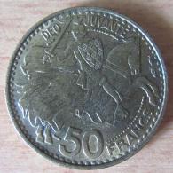 Monaco - Monnaie 50 Francs 1950 Rainier III - TTB Voire SUP - Monaco