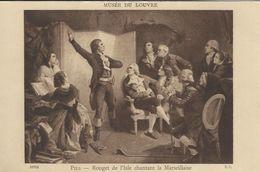 Pils - Rouget De I`Isle Chantant La Marseillaise. Musée Du Louvre.  France.  S-4015 - Museum