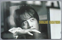 JP.- Japan, Telefoonkaart. Telecarte Japon. YAMAZAKI MASAYOSHI. - Personen