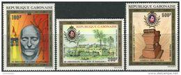Gabon 1971. Michel #431/33 MNH/Luxe. 150th Anniversary Of Napoleon I (Ts31) - Napoleon