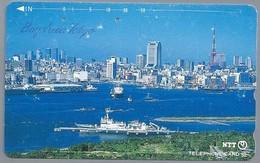JP.- Japan, Telefoonkaart. Telecarte Japon. BAY AREA TOKYO. - Landschappen