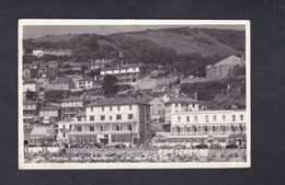 UK General View Of Ventnor Isle Of Wight From The Pier ( Real Photo ) - Ventnor