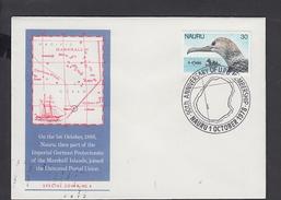 NAURU 1978 - Annullo Speciale U.P.U. - Fauna  - Uccello - Nauru