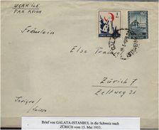 TURKEY , EARLY OTTOMAN SPECIALIZED FOR SPECIALIST, SEE....Brief Von Istanbul Nach Zürich - 1921-... Republik