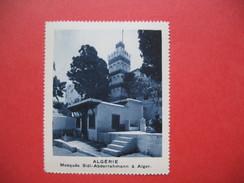 Chromo Image Vignette Algérie  - Mosquée Sidi-Abderrahmann à Alger -  6.5 X 7.5 Cm - Chromos