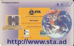 TARJETA TELEFONICA DE ANDORRA. (052) - Andorra